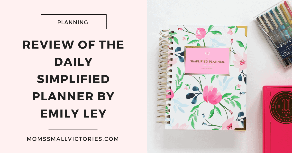 The Daily Simplified Planner by Emily Ley is a simple, clean and colorful planner that helps me simplify my busy life, home and mind. By color coding my tasks and tracking my time, this pretty little powerhouse is an effective time management tool to help me focus on my goals and get more done so I can have more fun!