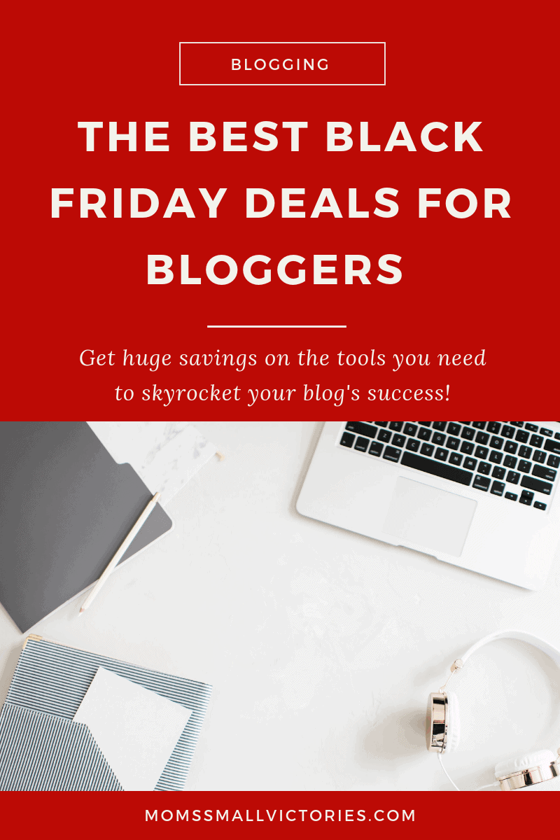 Successful blogs are built on a whole lot of passion and even more hard work. I love sharing blogging tips and tricks I've learned along the way and one of them is to snag the best Black Friday deals for bloggers so you can skyrocket your blog's success in 2019 and keep more income in your pocket!
