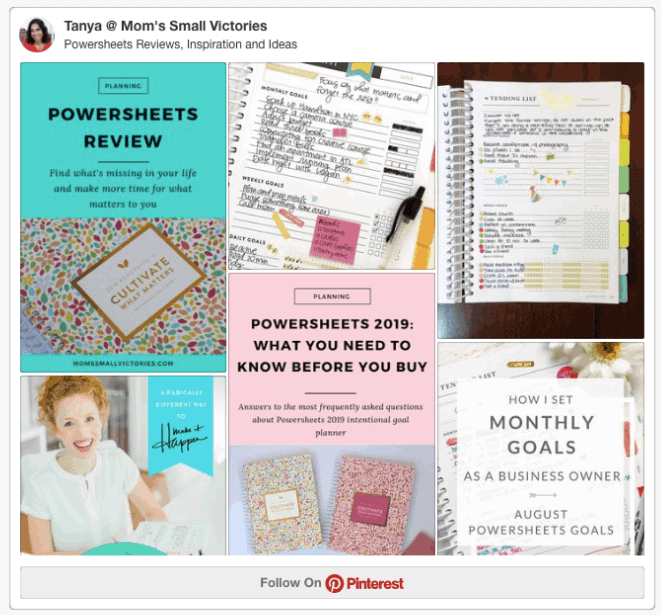 Powersheets 2019 Pinterest Board with powersheets reviews, tips and inspiration to help you make the most of your Powersheets intentional goal planner and cultivate what matters to you in 2019