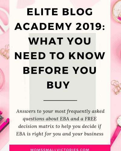 Everything You Need to Know About Elite Blog Academy 2019 Before You Buy