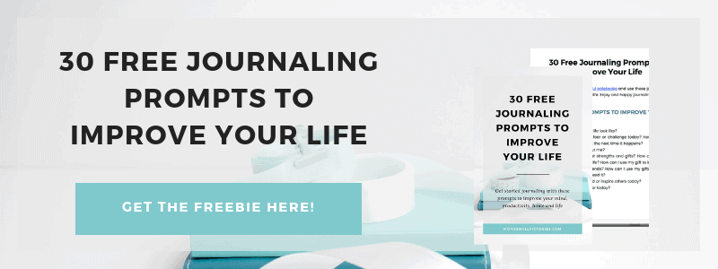 30 free journaling prompts to improve your life