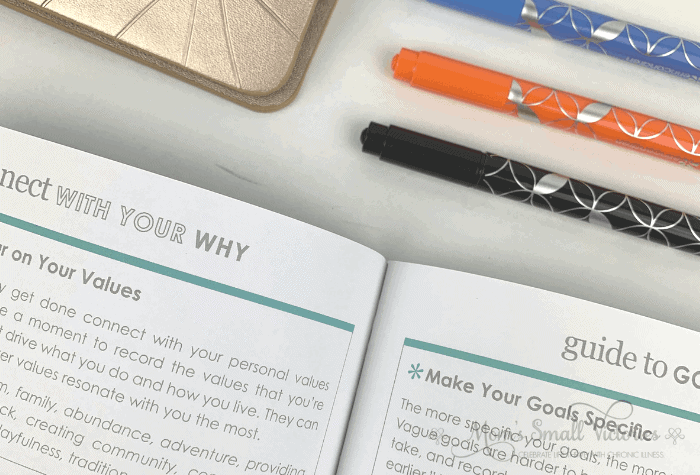 erin condren goal setting joural sneak peek into defining your why
