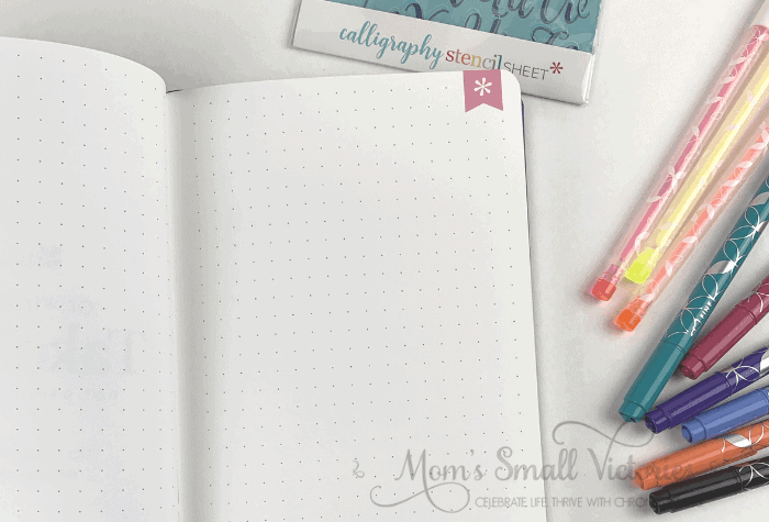 erin condren softbound notebook dot grid page