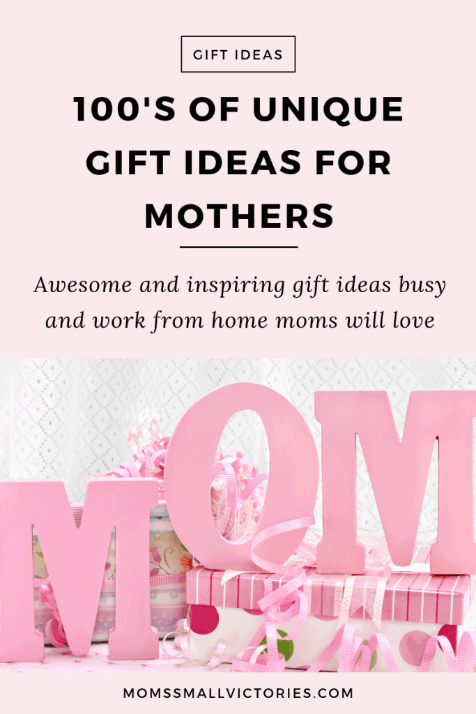 100s of unique gift ideas for mothers. Awesome and inspiring gift ideas for busy moms, overwhelmed moms, soccer moms, moms with arthritis and moms who love Star Wars! Find the perfect, simple, meaningful gift that mom is sure to love.