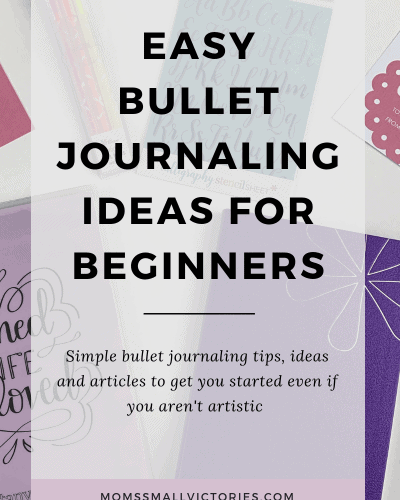 Easy Bullet Journaling Ideas for Beginners