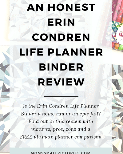 Erin Condren Life Planner Binder Review: Home run or epic fail?