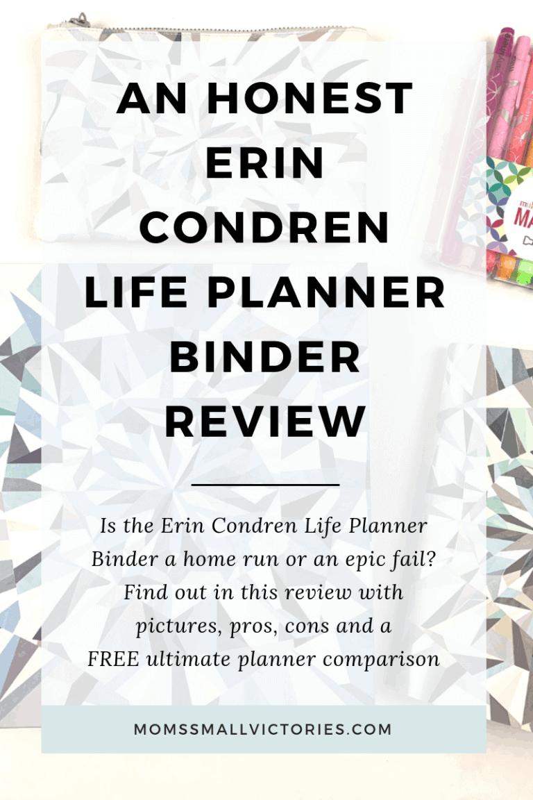 Erin Condren Life Planner Binder Review: Home run or epic fail?