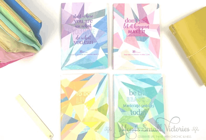 The Erin Condren Daily Petite Planners come in a set of 4 quarterly volumes or you can buy each volume separately.