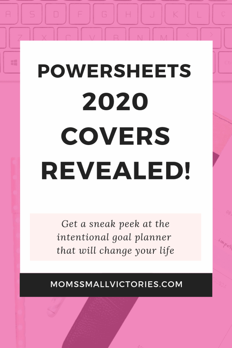 Powersheets 2020 Covers Revealed! The Goal Planner that Will Change Your Life