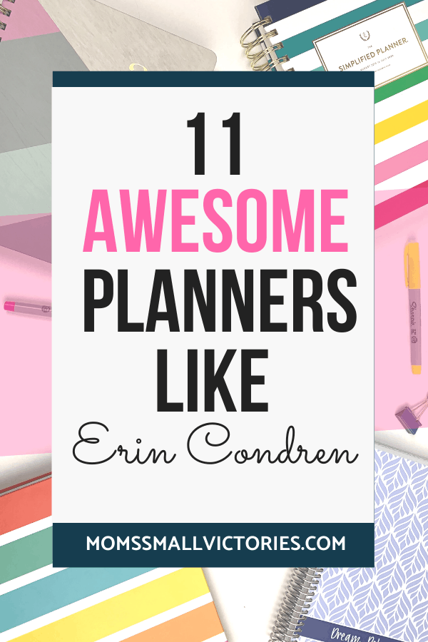 Looking for a planner like the Erin Condren LifePlanner? I've got 11 Awesome Planners Like Erin Condren for you. These planners have the same high quality, style and inspiring design but I highlight what makes them unique so you can decide which planner is right for you, your life and your planning style.