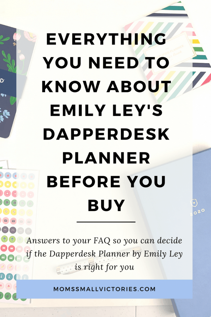 Want to know if the 2020 Dapperdesk Planner by Emily Ley is right for you? Get answers to all your questions, including whether it lies flat, how it holds up, what the inside looks like, pros and cons, and when the best time to buy one is. Let this buying guide help you decide if the Dapperdesk Planner is right for you.