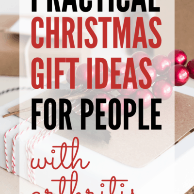 Practical Christmas gift ideas for people with arthritis. Get the Rheumatoid arthritis patient on your Christmas list a thoughtful and comforting gift to help them cope with the daily stress and pain of Rheumatoid Arthritis and other types of arthritis.