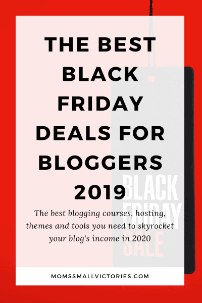 The Best Black Friday Deals for Bloggers 2019. The best blogging courses, hosting, themes and tools you need to skyrocket your blog's income in 2020.