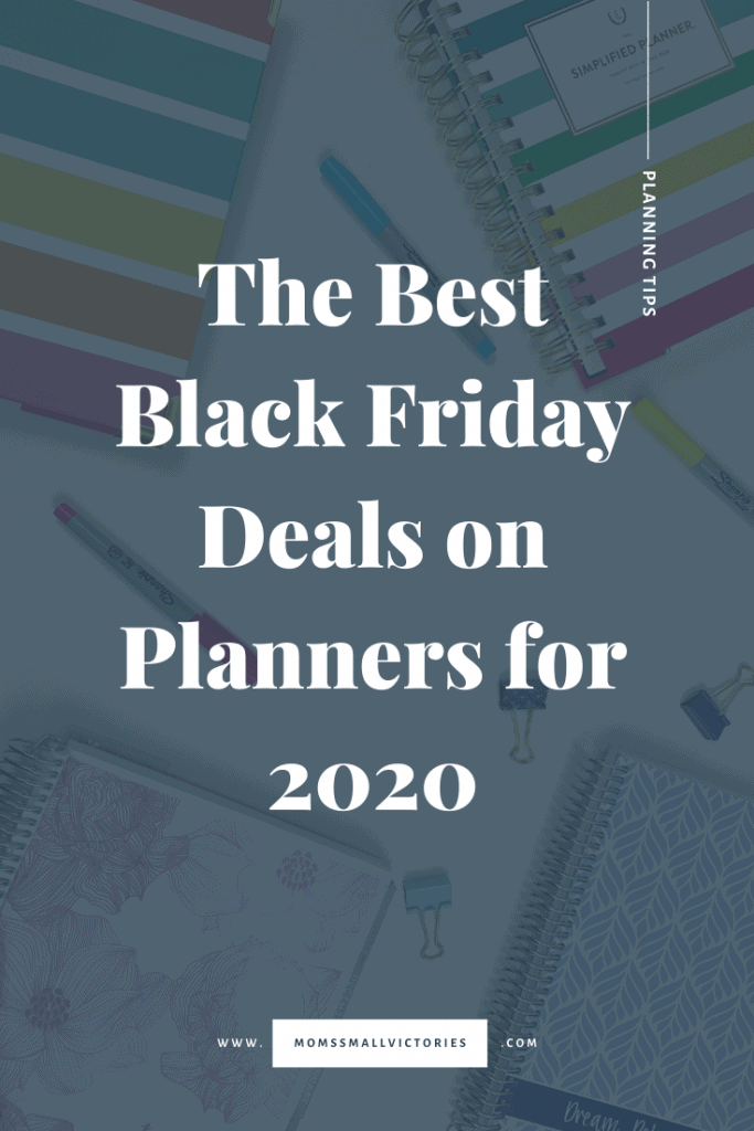 Need a planner to keep up with your busy schedule for 2020? Black Friday is the best time to score and amazing deal on a great planner. These are the Best Black Friday deals on planners for 2020. Find out whether your favorite planner company like Emily Ley, Erin Condren, Passion Planner, Day Designer and more are having sales this Black Friday and get all the details on the best time to buy so you can make 2020 your best year yet! #planners #blackfriday #blackfridaydeals