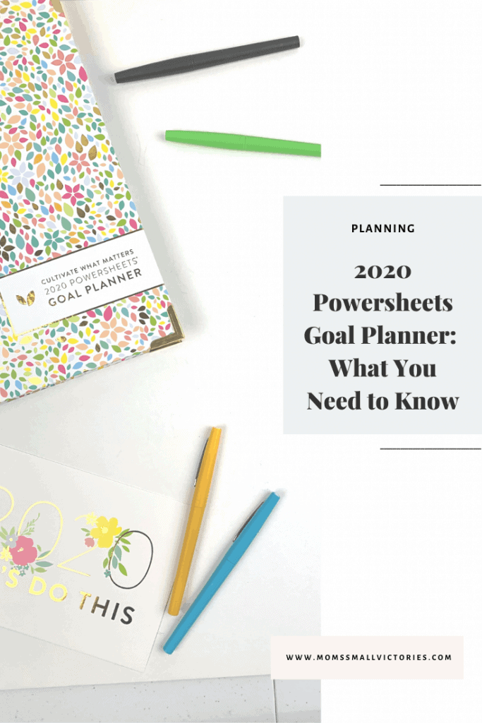 HERE'S EVERYTHING YOU NEED TO KNOW ABOUT THE 2020 POWERSHEETS GOAL PLANNER INCLUDING MY REVIEW, MY MONTHLY RESULTS, TIPS AND ANSWERS TO FAQ'S.
