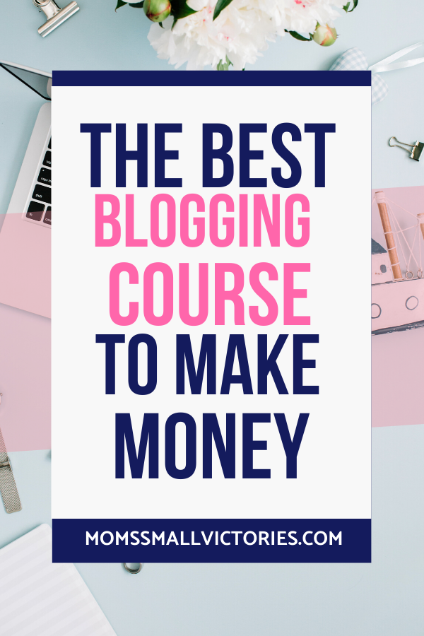 The Best Blogging Course to Make Money is on sale now for a limited time. Stop spinning your wheels and beat blogging overwhelm with this course that walks you step by step through building a profitable blog and business.
