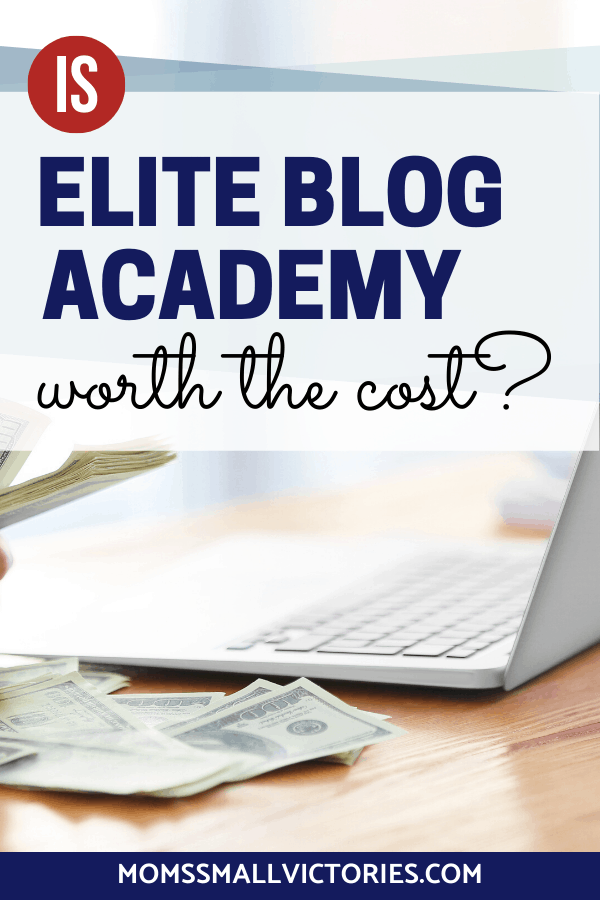 Is Elite Blog Academy REALLY Worth the Cost? Get the inside scoop on the true cost of running your online business and blog as a solopreneur and a small niche audience. Get the different EBA package options, the true value and how to afford EBA. Download your free investment Decision Matrix to objectively analyze various factors in order to determine if EBA is a wise investment for your blog and business. #eliteblogacademy