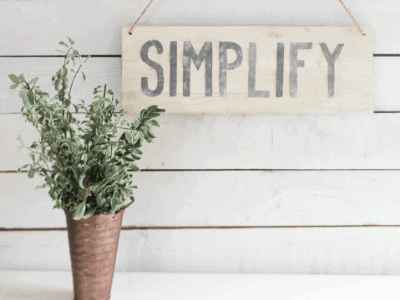 5 steps to declutter your home and mind